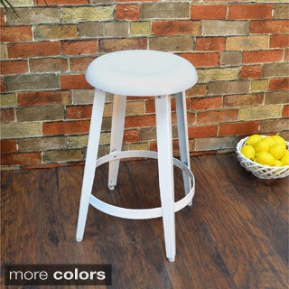 Hand-forged Craton Contemporary Metal Stool