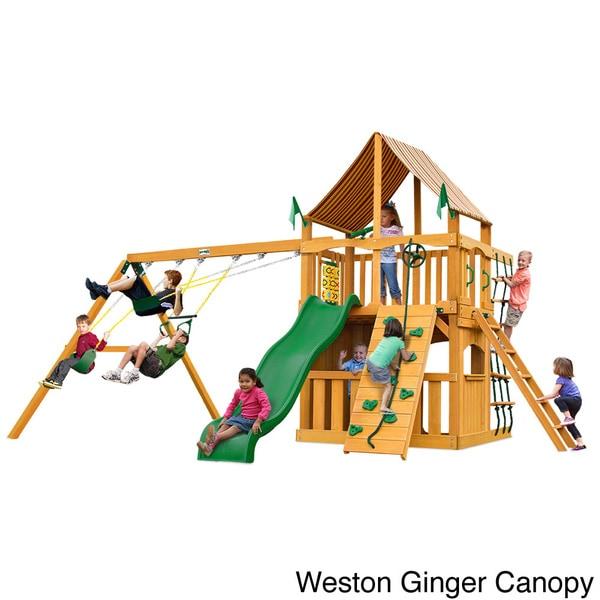Big Backyard Charleston Lodge : Pics Photos  Big Backyard Cedar Clubhouse Swing Set 278313 175 Jpg