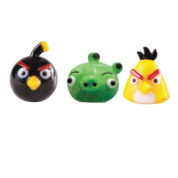 Glass World 42002 Angry Birds Glass Figurines 12859547