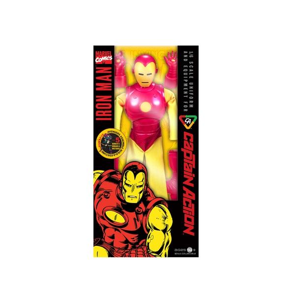 Round 2 Captain Action Iron Man Costume Set 12859557
