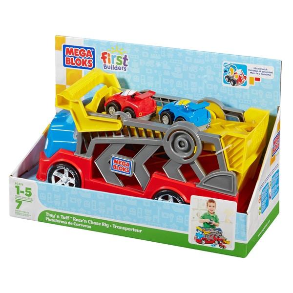 Mega Bloks Tiny n Tuff Race n Chase Rig