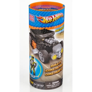 Mega Bloks Hot Wheels Black Bone Shaker