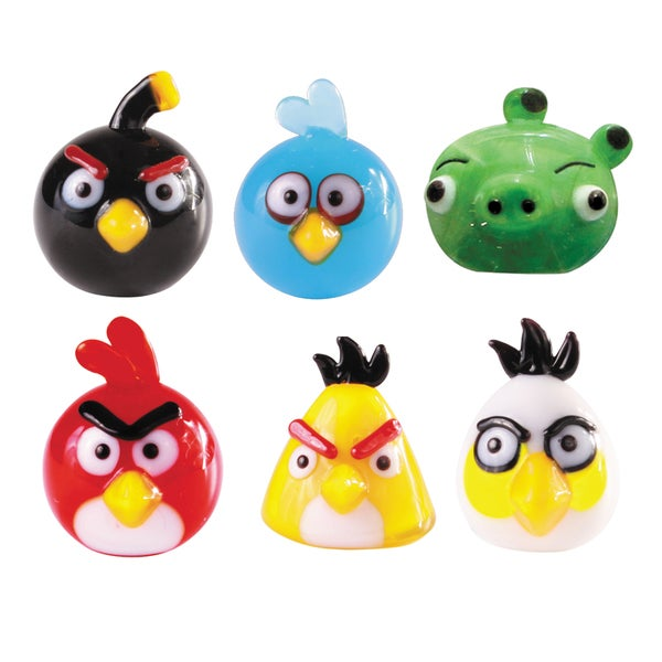 Glass World 48000 Angry Birds Glass Figurines 12859594