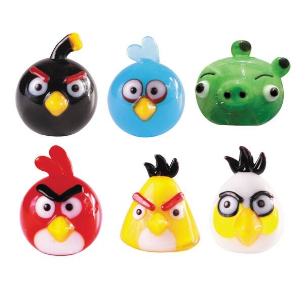 Glass World 48000 Angry Birds Glass Figurines