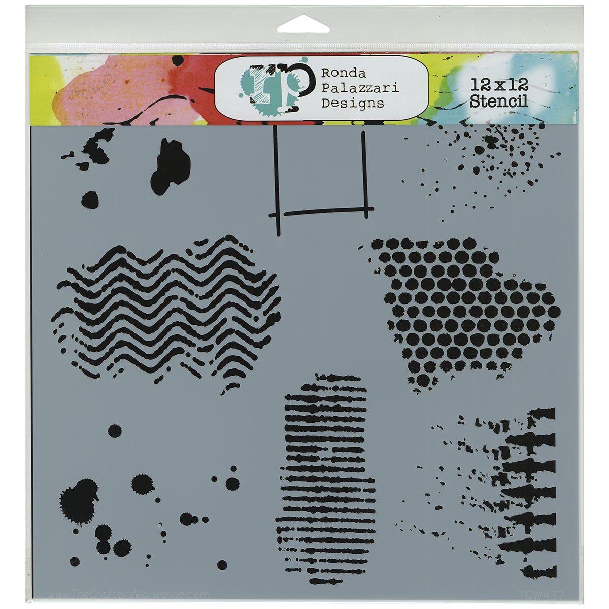 "Crafter's Workshop Template 12""X12""-Texturized"