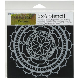 """Crafter's Workshop Template 6""""X6""""-Rosetta"""
