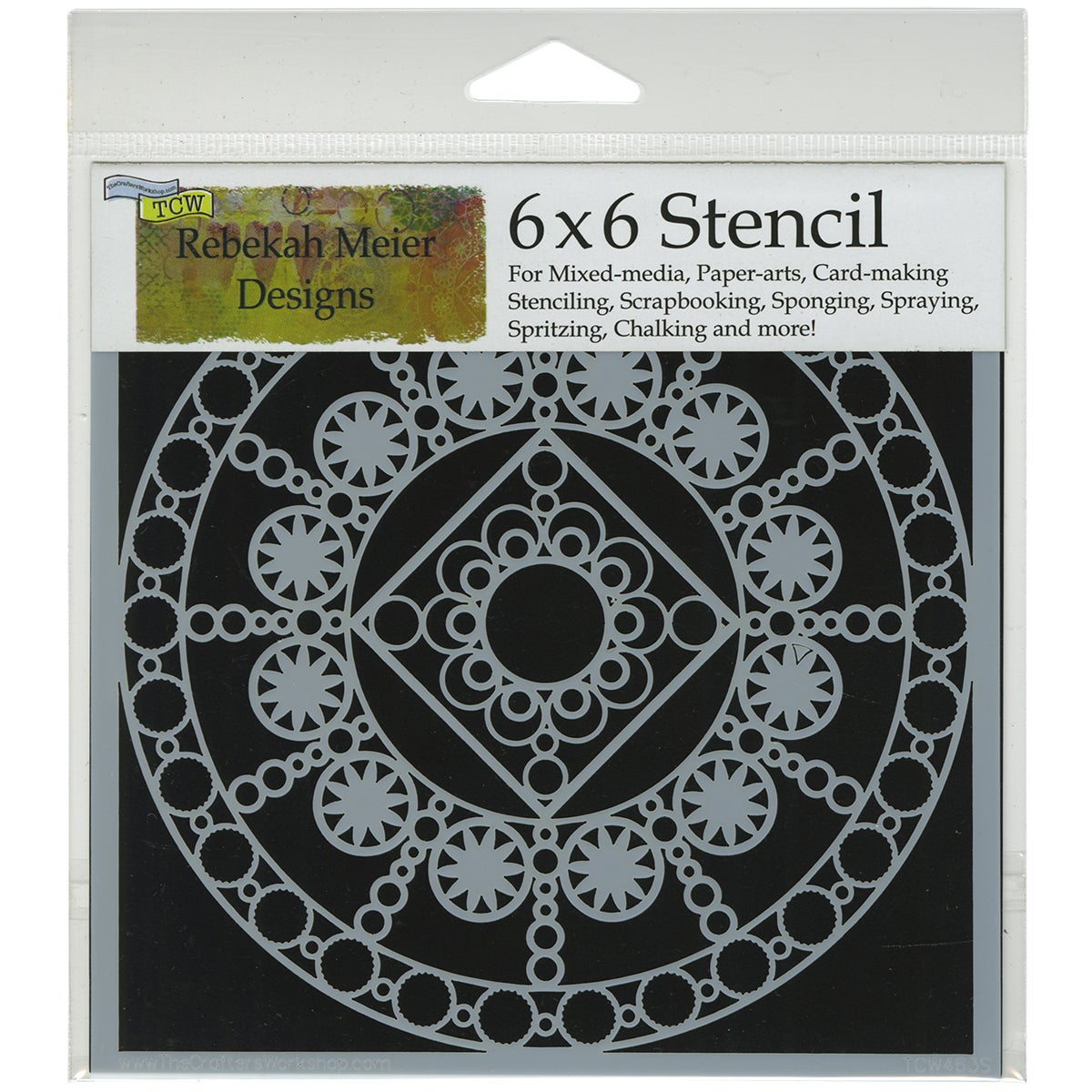 "Crafter's Workshop Template 6""X6""-Byzantine"