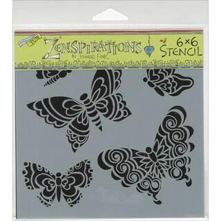 """Crafter's Workshop Template 6""""X6""""-Sweet Butterflies"""