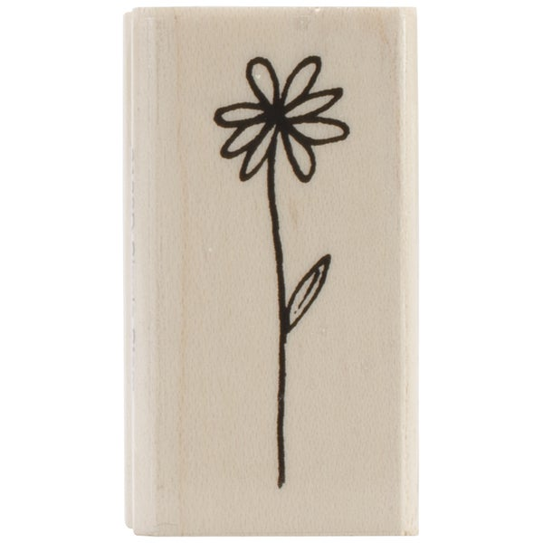 "Penny Black Mounted Rubber Stamp 1""X1.75""-Single Stem"