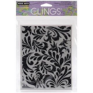 """Crafter's Workshop Templates 6""""X6""""-4 Feathers"""