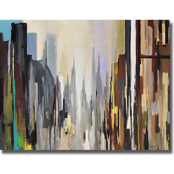Gregory Lang 'Cathedral' Canvas Art