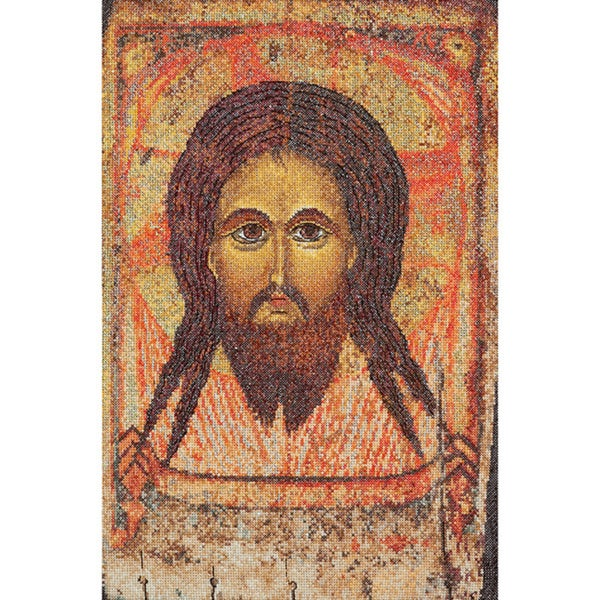 """Icon Holy Face On Aida Counted Cross Stitch Kit-8-3/4""""X13-1/4"""" 18 Count"""