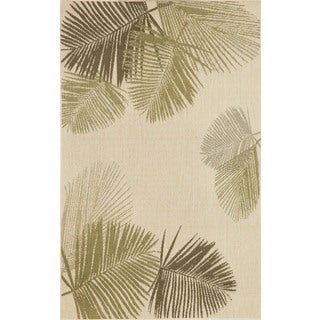 Leaves Outdoor Rug (7'10 x 9'10)