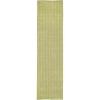 Vertical Stripe Outdoor Rug (1'11 x 7'6)