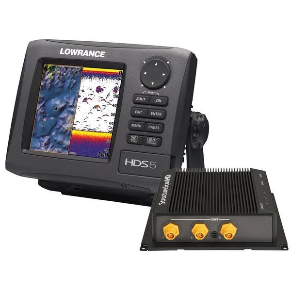 Lowrance HHDS-5 Gen2 Lake Insight 83/200Khz and LSS-2 Hd Bundle Transducer