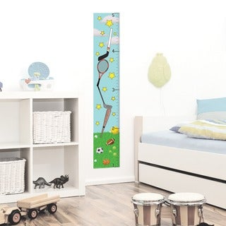 Peel & Stick Sports Growth Chart