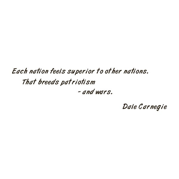 Dale Carnegie Quote Vinyl Wall Art