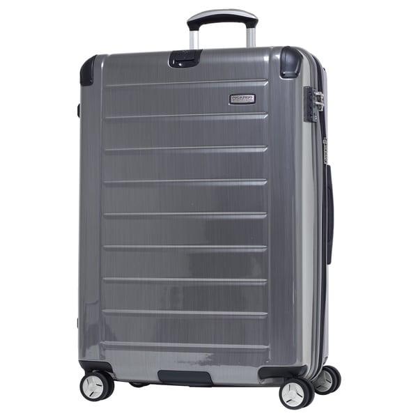 Ricardo Beverly Hills Roxbury 2.0 Brushed Silver 29-inch 4-wheel Spinner Upright Suitcase