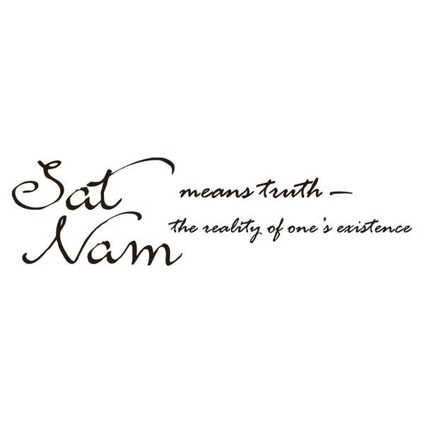 Sat Nam Mantra Wall Decor