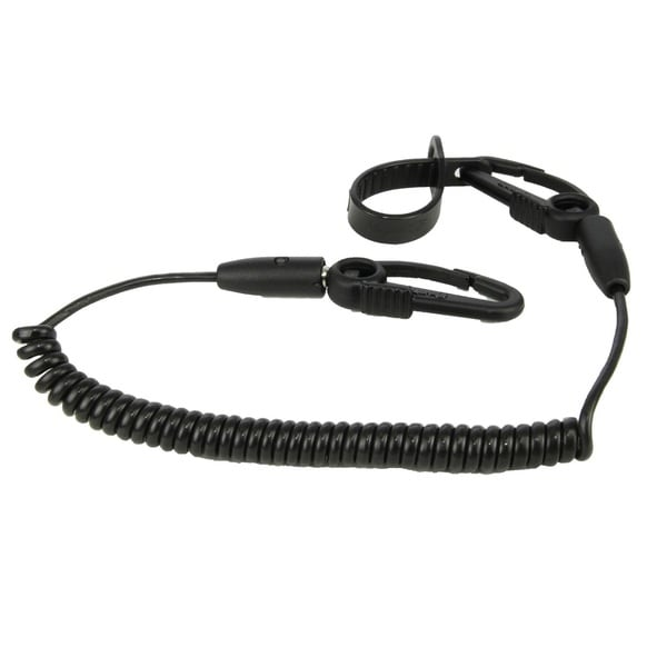 Scotty Black Flexcoil Safety Leash