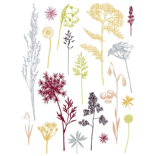 Field of Herbs Wall Decal