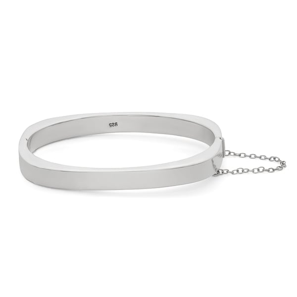 Gioelli Sterling Silver Polished Bangle