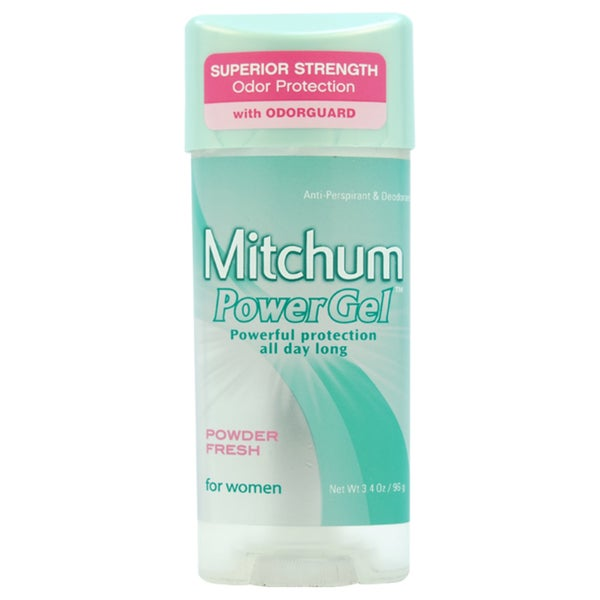 Mitchum Powder Fresh Clear Gel Deodorant