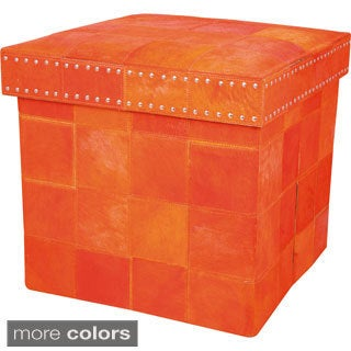 Barclay Butera Medley Storage Cube by Nourison (17 x 17 x 16) by Nourison