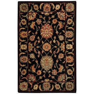 Nourison Living Treasures Black Rug (1'9 x 2'9)