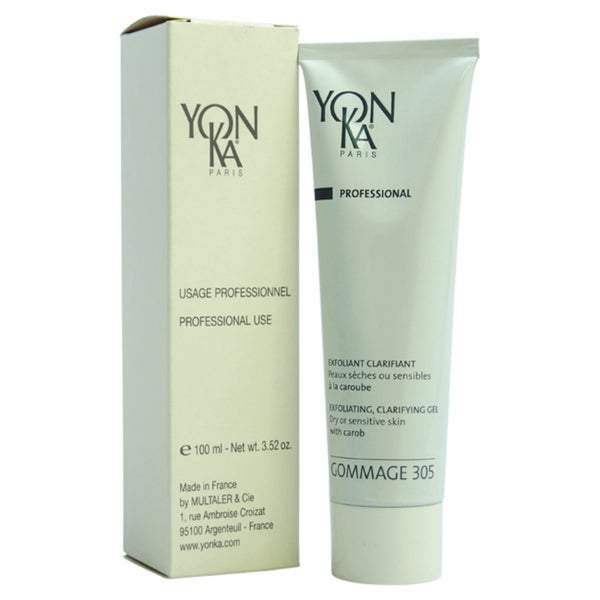 Yonka Gommage 305 Exfoliating Clarifying 3.52-ounce Gel