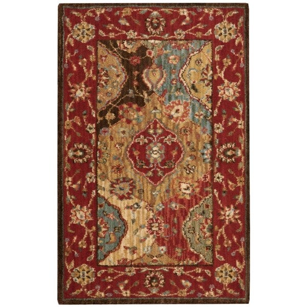 Nourison Living Treasures Multicolor Rug (1'9 x 2'9) - 1'9 x 2'9 12861815