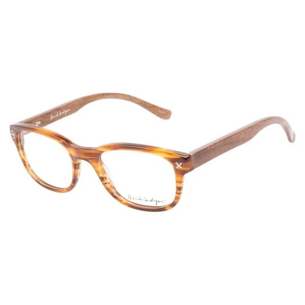 Derek Cardigan 7036 Light Brown Horn Prescription Eyeglasses
