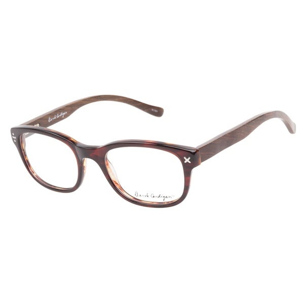 Derek Cardigan 7036 Havana Brown Prescription Eyeglasses