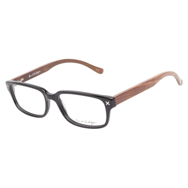 Derek Cardigan 7035 Black Prescription Eyeglasses