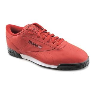Reebok Men's 'Exofit Lo Clean Logo R12' Leather Athletic Shoe