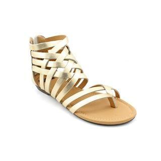 N.Y.L.A. Women's 'Shyne' Leather Sandals