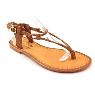 Naughty Monkey Women's 'Roxanne' Leather Sandals