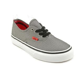 Vans Boy (Youth) 'Authentic' Basic Textile Athletic Shoe
