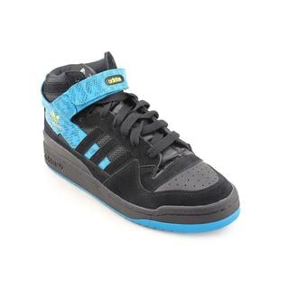 Adidas Men's 'Forum Mid' Basic Textile Casual Shoes