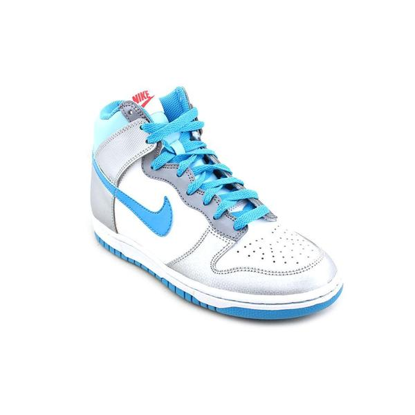 Nike Girl (Youth) 'Dunk High GS' Leather Athletic Shoe