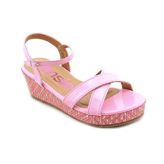 Kensie Girl Girl (Youth) 'KG31171' Patent Sandals