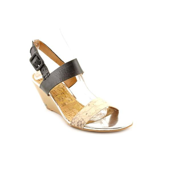 Sam Edelman Women's 'Sutton Wedge Sandal' Leather Sandals (Size 9 )