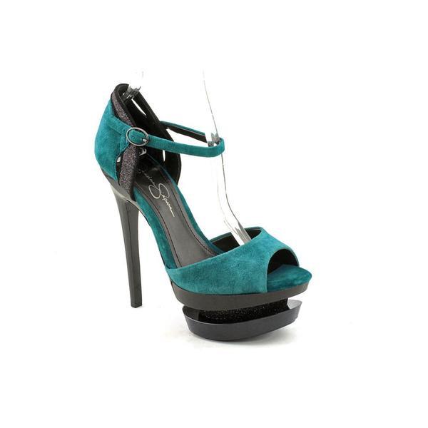 Jessica Simpson Women's 'Casper' Kid Suede Dress Shoes