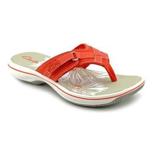 Clarks Women's 'Breeze Sea' Synthetic Sandals (Size 12 )