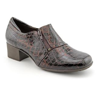 Elites by Walking Cradles Women's 'Madison' Patent Leather Casual Shoes - Extra Wide