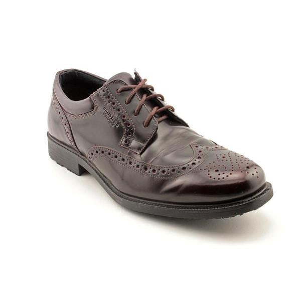 Rockport Men's 'Essential Details Water Proof Wing Tip' Leather Dress Shoes