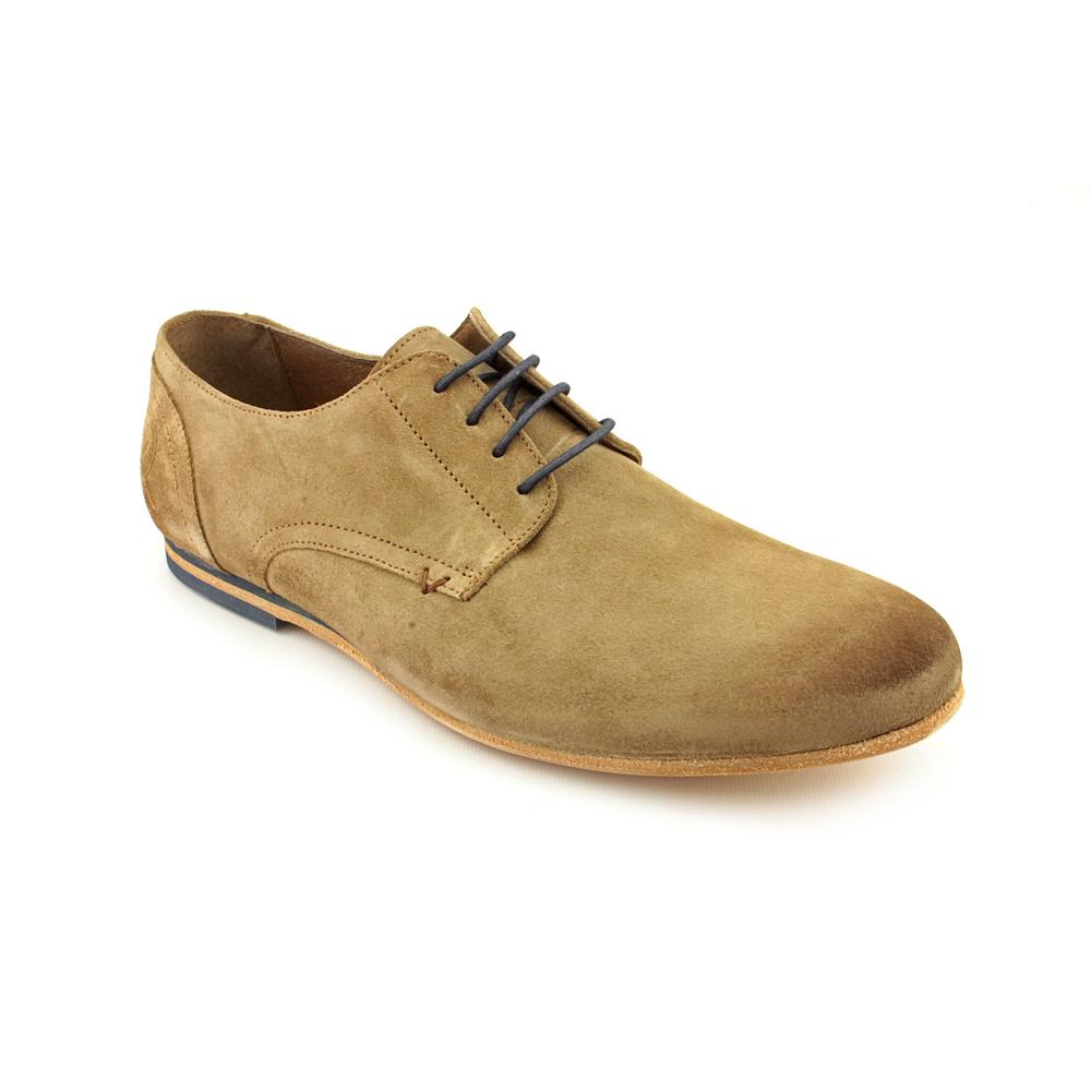 Vudu Shoes Men's 'Victor Oxford' Leather Casual Shoes