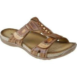 Women's Earth Abaca Almond Full Grain Leather