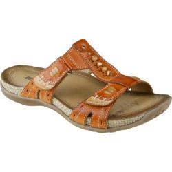 Women's Earth Abaca Henna Full Grain Leather