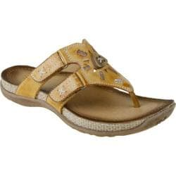 Women's Earth Sisal Spruce Yellow Full Grain Leather